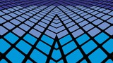 Infinite blue tiles background - Illustration, Blue geometric abstract background - 190408451