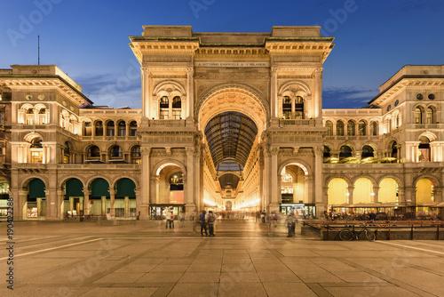 Foto op Plexiglas Milan Galleria Vittorio Emanuele II