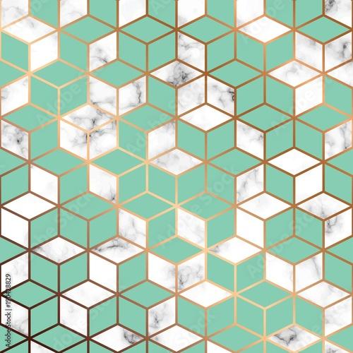 wektor-marmur-tekstura-nowoczesna-truktura-szesciany-w-tle-zielony-zloty-bialy-wielokrotn-luksusowyy-wzor