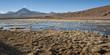 Quadro Active volcano Putana (also known as Jorqencal or Machuca) near Vado Rio Putana in Atacama Desert, Chile