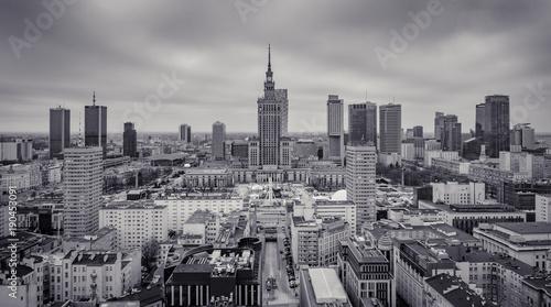 Fototapety, obrazy : Warszawa centrum
