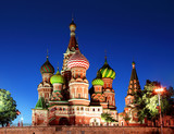 Saint Basil Cathedral in Moscow - 190455265