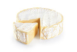 Cheese brie isolated on white background. - 190478621