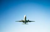 passenger plane taking off composition - 190481816