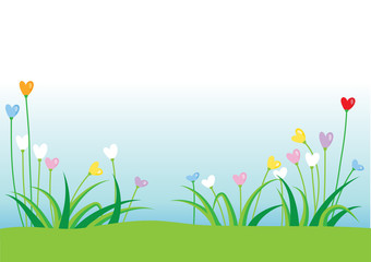plant and flower background
