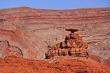 Mexican Hat in Utah in the USA