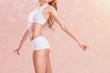 Leinwanddruck Bild - Perfect Slim Body
