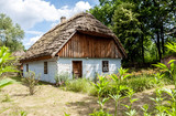 rural old wooden house