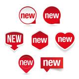 New label set sticker - 190512802