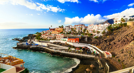 Tenerife holidays - pictorial Puerto di Santiago, Canary islands of Spain