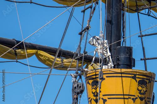 Keuken foto achterwand Schip detail of a pirate vessel