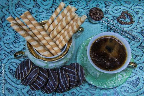 Kawa, słodycze, ciastka
