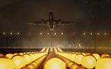 Flugzeug beim Take Off
