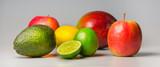 Frische, bunte Früchte