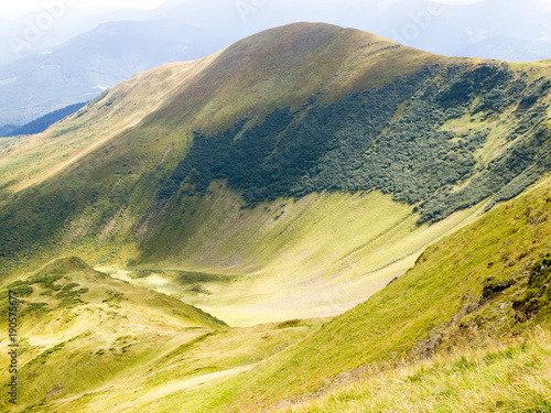 Tuinposter Meloen Summer in mountains