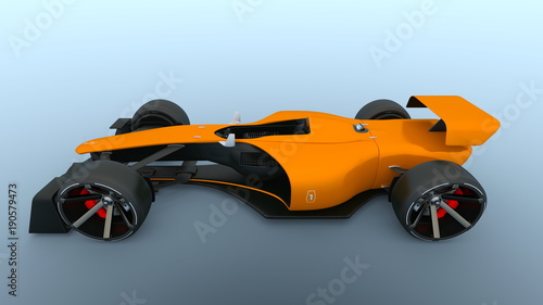 Fotobehang F1 レーシングカー