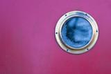 porthole pink background - 190582032