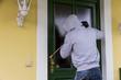 burglar on a doorstep - 190617684
