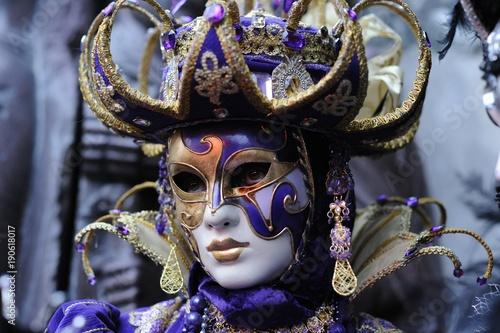 Foto op Canvas Venetie mardi gras,carnaval,Venise,Nice,masque,déguisement,crêpe,Rio,