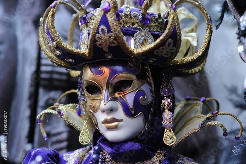 Foto op Plexiglas Venetie mardi gras,carnaval,Venise,Nice,masque,déguisement,crêpe,Rio,