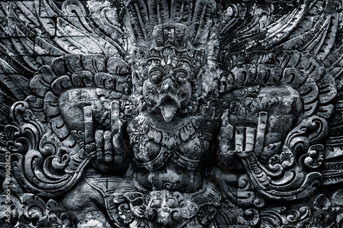 Foto op Canvas Bali Traditional sculpture of temples in Bali, Indonesia