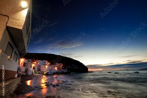Fotobehang Canarische Eilanden Tufia, small coastal town of Gran Canaria.