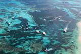 Aerial view of the reef in the ocean - 190628069