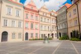 Strade del centro storico di Varsavia, Polonia - 190635266