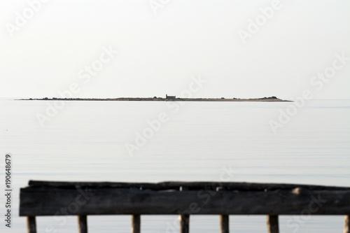Plexiglas Pier riserva naturale di vendicari, siracusa, sud della sicilia