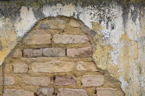 Foto op Plexiglas Baksteen muur Muro