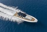 Motor boat in navigation - 190679640
