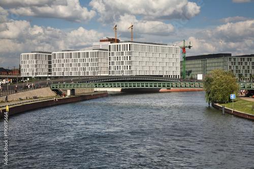 Foto op Canvas Berlijn Spree river in Berlin. Germany