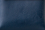 The texture of the leather in Dark blue.