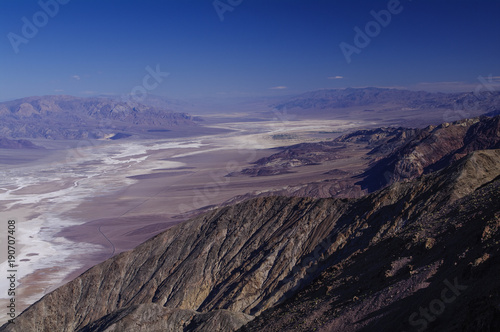 Death Valley from Dante's View. Tableau sur Toile