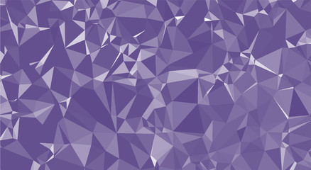 Ultra Violet Polygon Background
