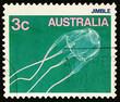 Jimble Jellyfish on postage stamp