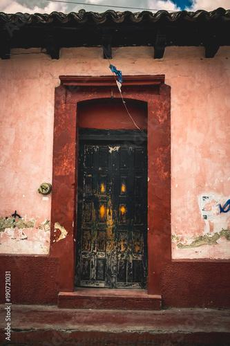 Doors in San Cristobal, Mexico