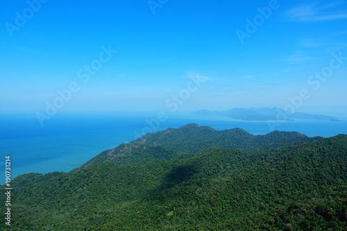 Papiers peints Bleu vert Malaysia Langkawi Island Beach Pantai Cenang