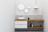 Contemporary bathroom sink - 190746801