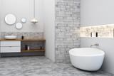 Clean bath room - 190746817