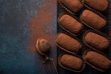 chocolate bread truffles