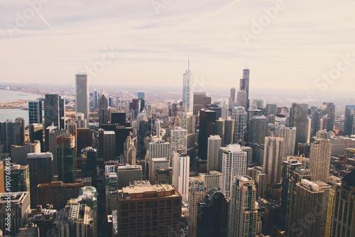 Foto op Aluminium New York city skyline