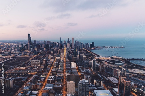 Foto op Aluminium New York city skyline new york