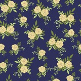 Vintage floral pattern. Seamless vector pattern with cute flowers for textiles, packaging, Wallpaper, covers.  - 190773855