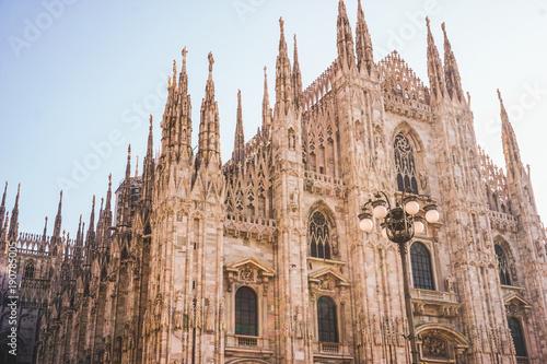 Foto op Plexiglas Milan Duomo Cathedral Milan
