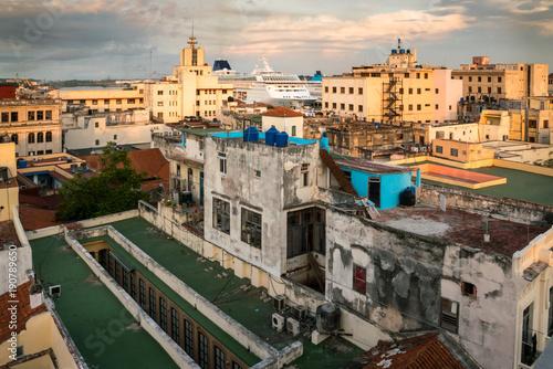 Foto op Canvas Havana Roof tops of Old Havana