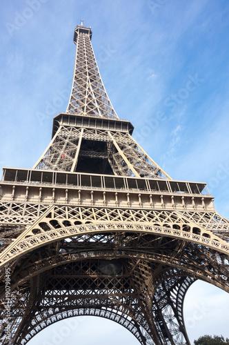 Foto op Plexiglas Eiffeltoren The Eiffel Tower in Paris