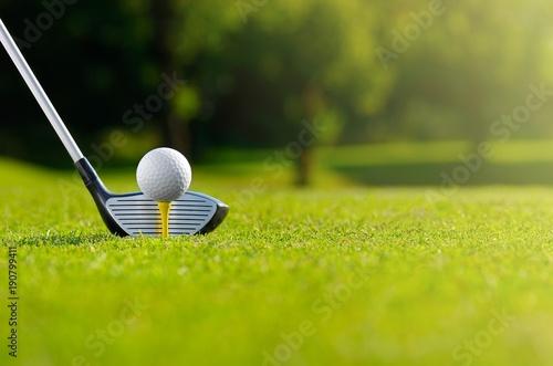 Foto op Aluminium Bol Let's golf