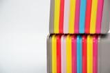 Fototapeta Rainbow - kolorowe pudełka z tworzywa sztucznego  © Emilia