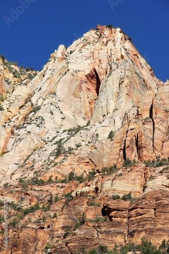 scenery from Zion National Park Utah